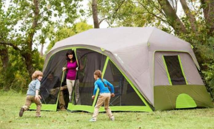 large cabin tent for whole family